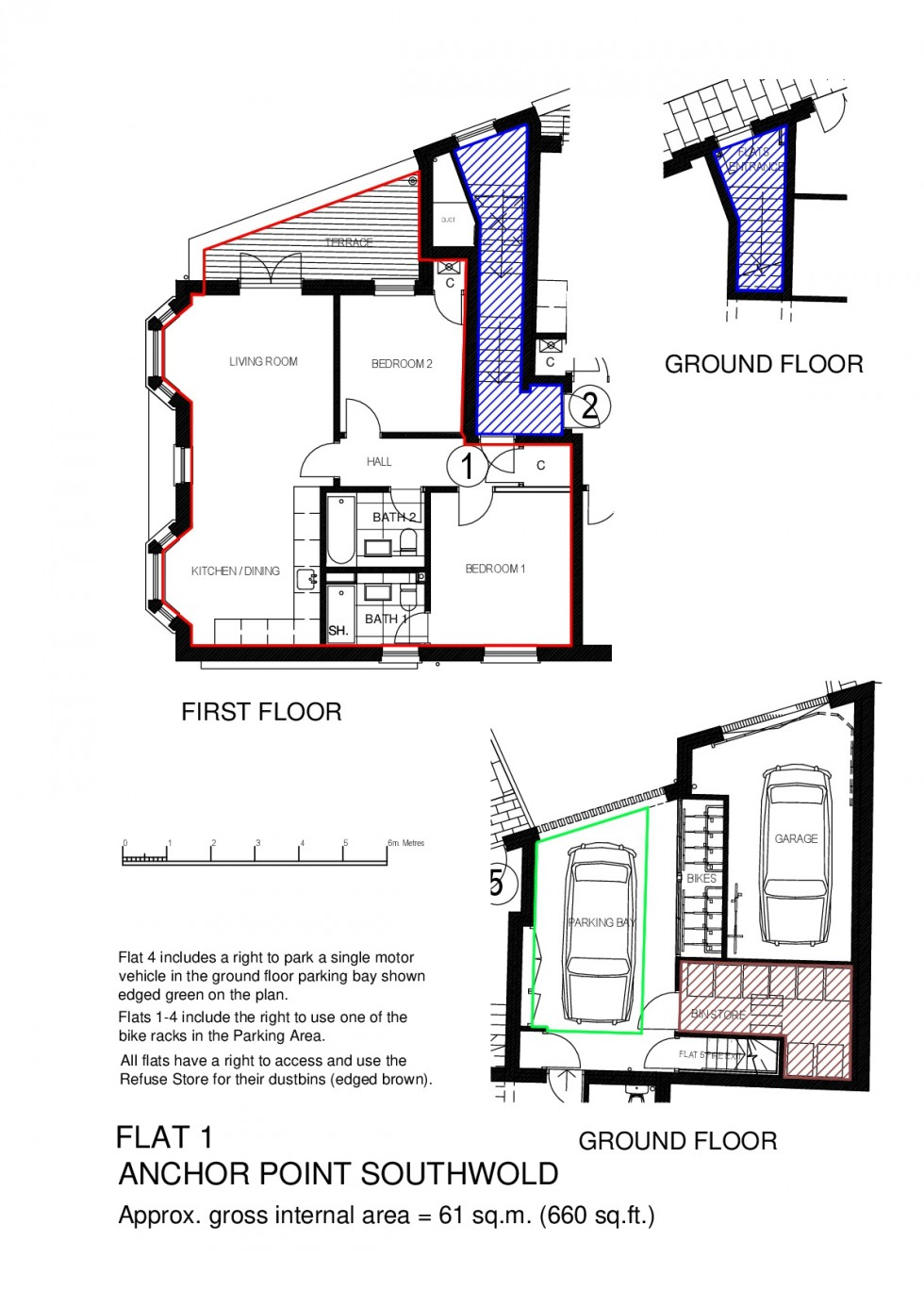 Floorplan for 1 Anchor Point, Southwold
