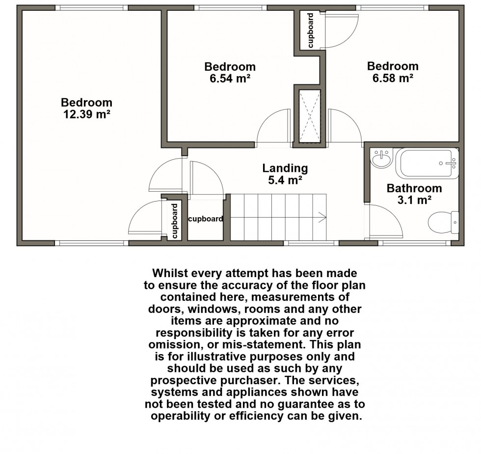 Floorplan for Windsor Road, Reydon