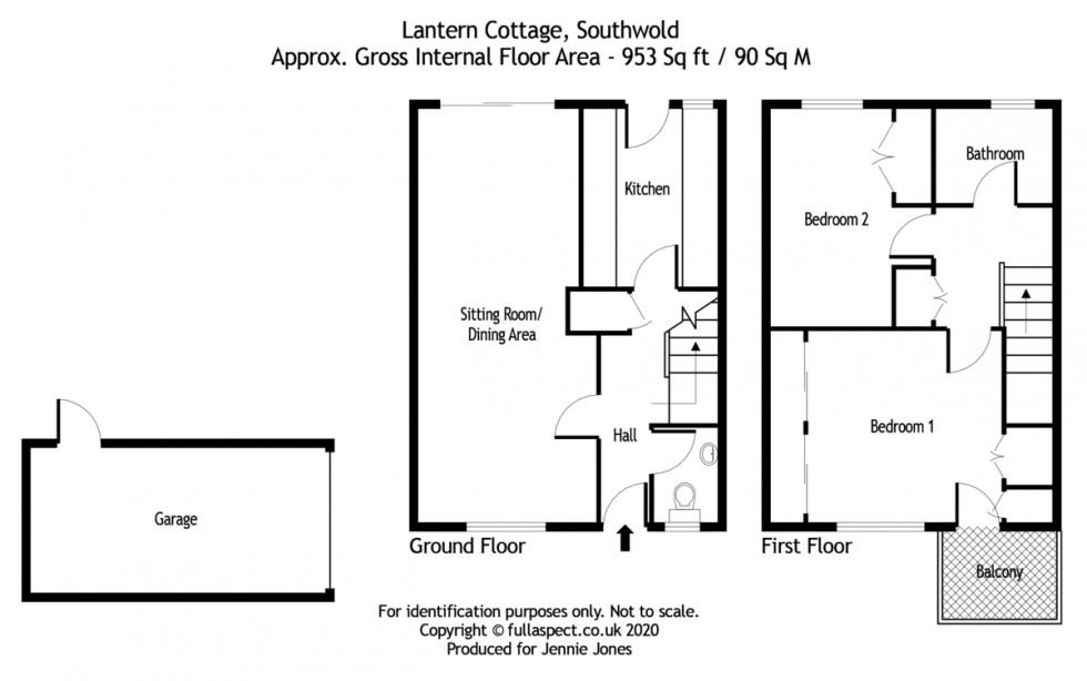 Floorplan for Southwold