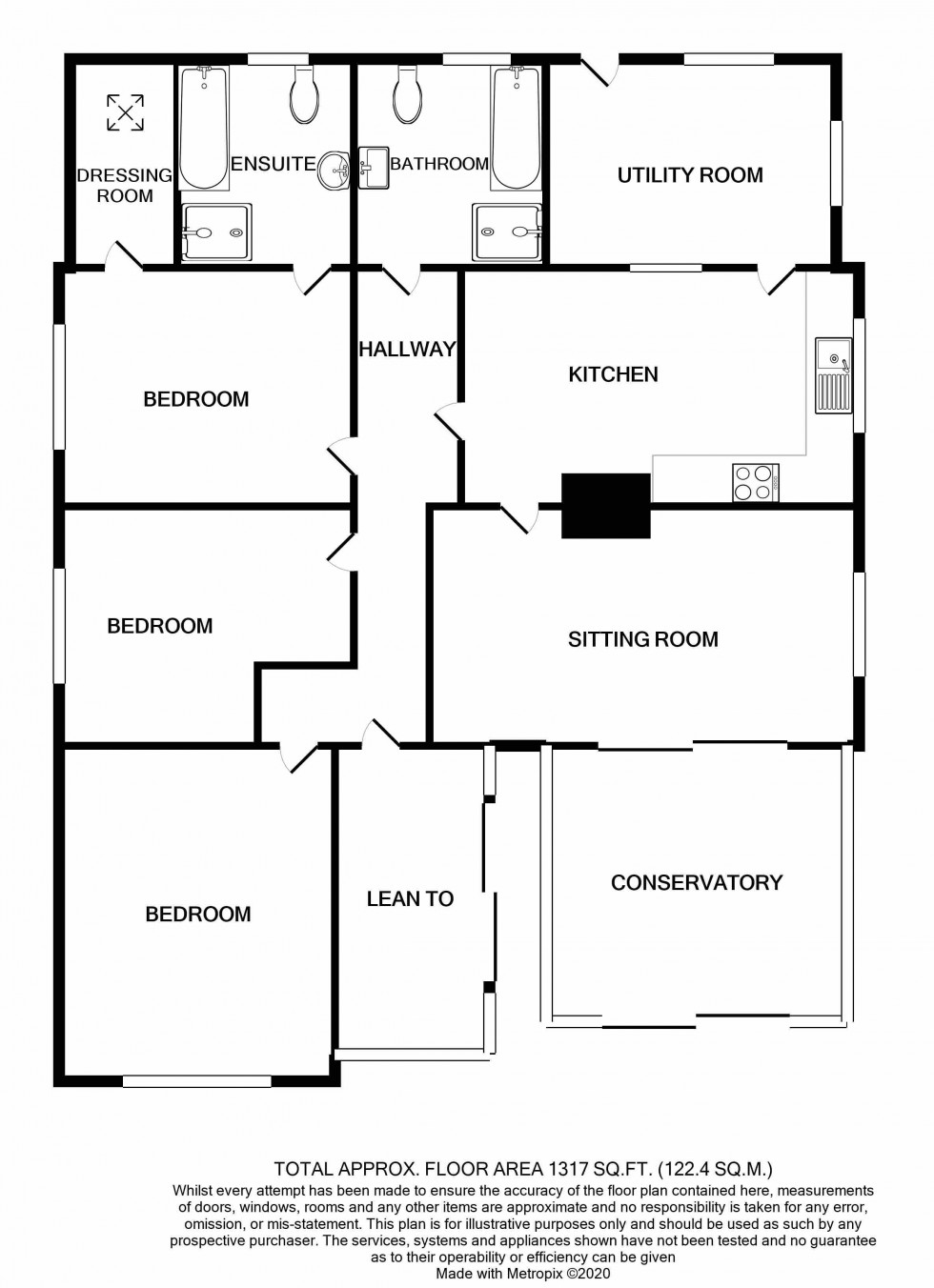 Floorplan for Bramfield